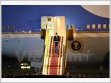 美国总统奥巴马开始对越南进行正式访问