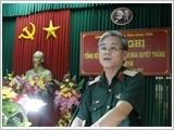第九军区加强乡、坊、镇军事支部的领导力和战斗力