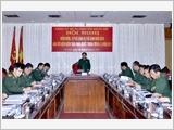 首都司令部党部将越共十二届四中全会决议与中央政治局五号指示结合并行推进
