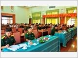 胡志明市武装力量将史中的宝贵教训运用于全民国防体制稳步建设工作当中