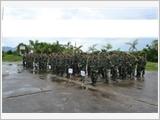 广宁省潭河县武装力量着眼于提高战备训练质量