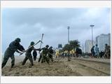 第五军区武装力量积极参与预防自然灾害、消除灾害后果和搜寻救难