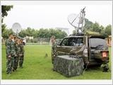 596旅致力提高掌握通信技术器材、装备的训练质量