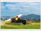 168炮兵旅集中提高演习质量