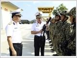 海军军种提高训练质量,满足新形势下海岛保卫要求