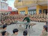 采矿与地质大学自主进行国防安全教育