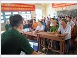 薄辽省边防部队加大针对当地人民的法律宣传工作力度