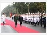 发挥军队在保卫党、国家、人民和社会主义制度中的作用