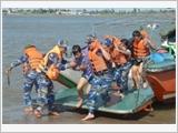 南定省边防部队建设强大的全民边防体制