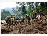 第五军区武装力量冲锋在预防天灾、搜寻救难最前线