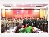 平福省边防部队推进对外工作