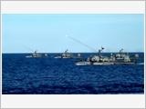 海军三区提高战备水平与搜救能力