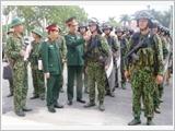 """河南省武装力量深入建设""""模范、典型""""全面强大单位"""