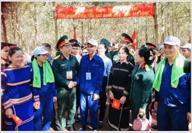 15号兵团在西原战略地区执行任务