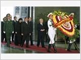 Ngày 12-10, cử hành trọng thể Lễ viếng Đại tướng Võ Nguyên Giáp