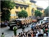 Toàn cảnh Lễ truy điệu Đại tướng Võ Nguyên Giáp