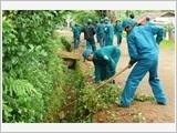 Lực lượng vũ trang Lâm Đồng tích cực tham gia xây dựng nông thôn mới