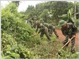 Sư đoàn 5 thực hiện tốt công tác dân vận trên địa bàn