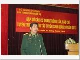 Họp báo về tuyển sinh và các trường Quân đội năm 2013