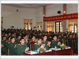 Tập huấn công tác đảng, công tác chính trị toàn quân
