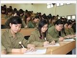 Đẩy mạnh công tác giáo dục quốc phòng - an ninh cho học sinh, sinh viên trong tình hình mới