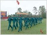 Làm theo gương Bác ở lực lượng vũ trang huyện Đức Thọ