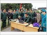"""Quân khu 1 xây dựng lực lượng dân quân tự vệ """"vững mạnh, rộng khắp"""""""