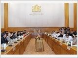 Chủ tịch Quốc hội bắt đầu thăm chính thức Myanmar