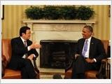 Chủ tịch nước Trương Tấn Sang hội đàm với Tổng thống Hoa Kỳ Ba-rắc Ô-ba-ma