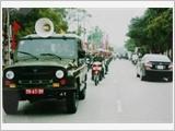 Lữ đoàn 971 tăng cường giáo dục pháp luật, bảo đảm an toàn giao thông