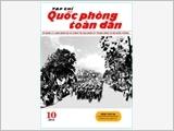 TẠP CHÍ QUỐC PHÒNG TOÀN DÂN số 10-2014