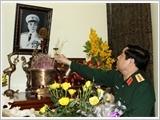 Đại tướng Phùng Quang Thanh dâng hương tưởng nhớ các tướng lĩnh thời kỳ kháng chiến chống Pháp