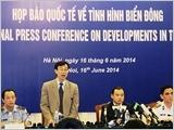 Họp báo quốc tế về tình hình Biển Đông ngày 16 tháng 6 năm 2014