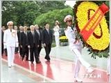Lãnh đạo Đảng, Nhà nước tưởng niệm các anh hùng liệt sỹ