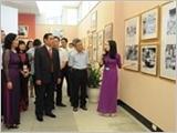 """Triển lãm """"45 năm thực hiện Di chúc Chủ tịch Hồ Chí Minh"""""""
