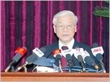 Toàn văn phát biểu bế mạc Hội nghị Trung ương 10 của Tổng Bí thư