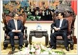 Thủ tướng Nguyễn Tấn Dũng, Chủ tịch Quốc hội Nguyễn Sinh Hùng tiếp Chủ tịch Liên minh Nghị viện Thế giới