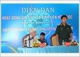 """""""Việt Nam luôn ủng hộ và đóng góp hết sức mình cho các nỗ lực hòa bình của LHQ"""""""