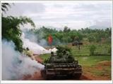 Cơ quan Bộ Tư lệnh Tăng Thiết giáp thực hiện tốt chức năng tham mưu trên các mặt công tác