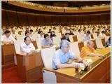 Quốc hội biểu quyết thông qua Luật nghĩa vụ quân sự (sửa đổi)