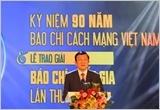 Lễ kỷ niệm 90 năm Ngày Báo chí Cách mạng Việt Nam và trao Giải Báo chí Quốc gia lần thứ IX - năm 2014
