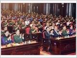 """Chủ tịch nước Trương Tấn Sang dự Chương trình giao lưu nghệ thuật """"Khát vọng đoàn tụ"""""""