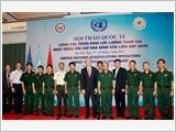 Hội thảo quốc tế về công tác triển khai Lực lượng GGHB của LHQ