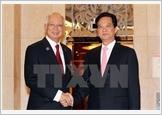 Thủ tướng Nguyễn Tấn Dũng hội đàm với Thủ tướng Malaysia Najib Rajak