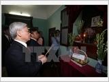 Lãnh đạo Đảng, Nhà nước, Mặt trận Tổ quốc dâng hương tưởng niệm Chủ tịch Hồ Chí Minh