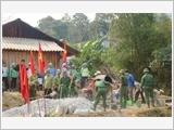 加强与革新越军在新形势下的民运工作