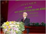 胡志明主席诞辰125周年纪念活动在河内隆重举行