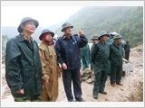 第二军区主动防止自然灾害 克服后果 开展救援