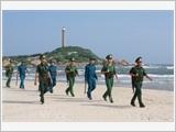 平顺省边防部队加强海洋边界主权与安全管理维护