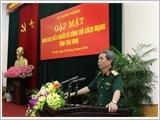 Tổng cục Chính trị gặp mặt đại biểu Người có công tỉnh Trà Vinh